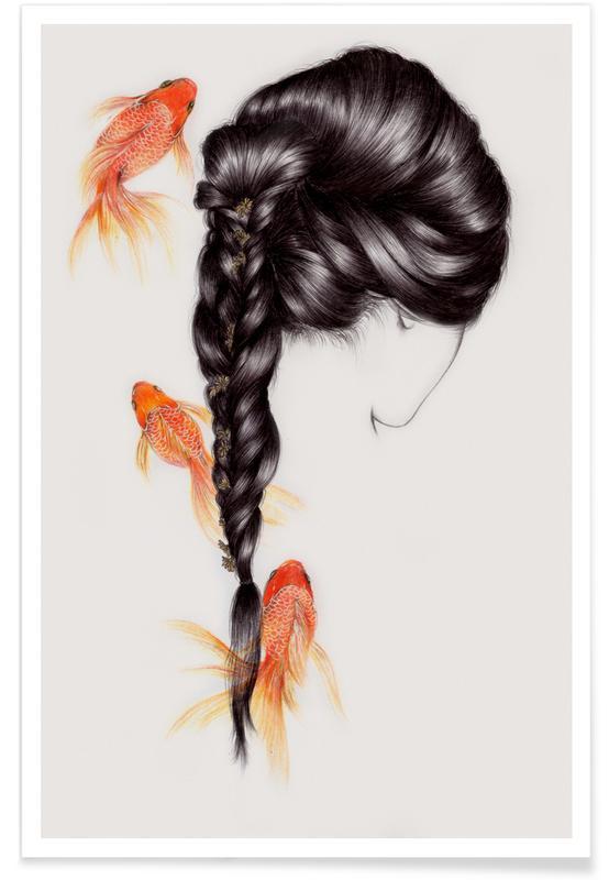 Fish Hair 3 Poster