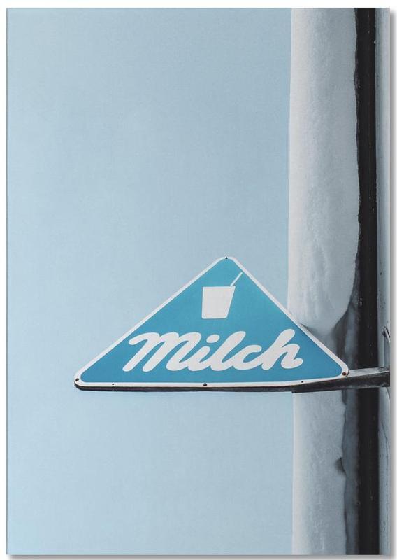 Milch -Notizblock