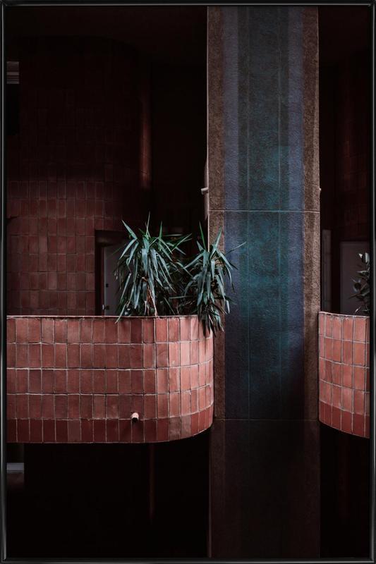 Walden Palms -Bild mit Kunststoffrahmen
