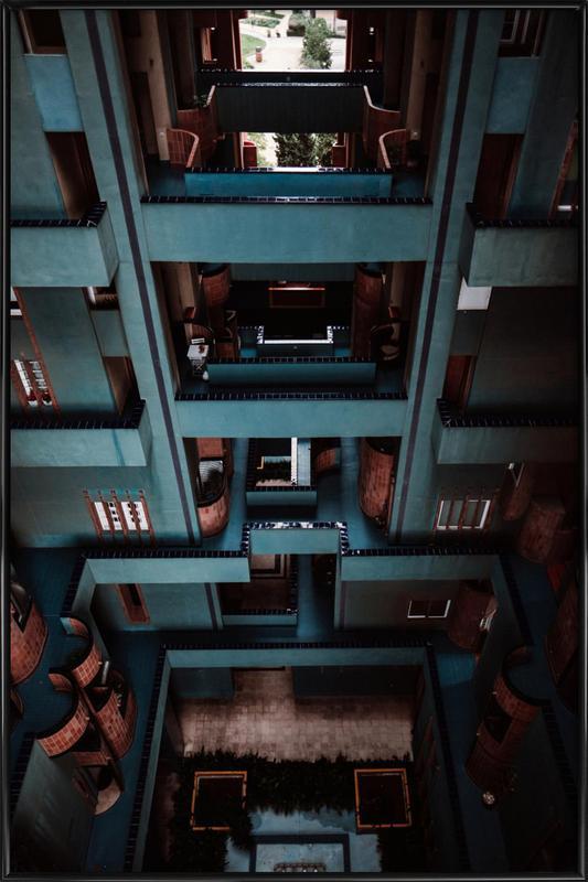 Walden Tetris -Bild mit Kunststoffrahmen