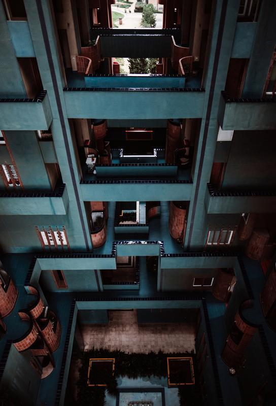 Walden Tetris -Acrylglasbild