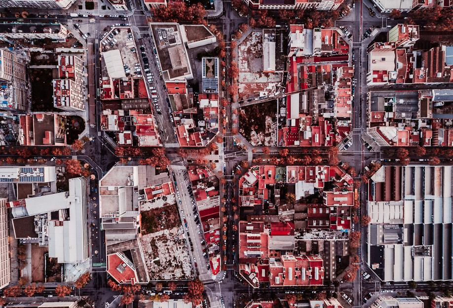 Barcelona alu dibond