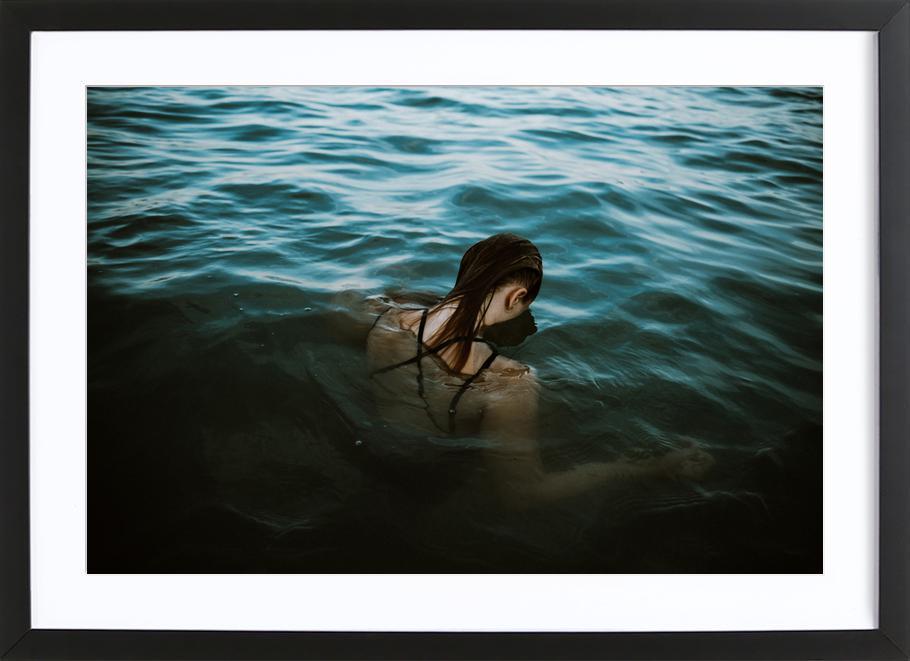 Drowning ingelijste print