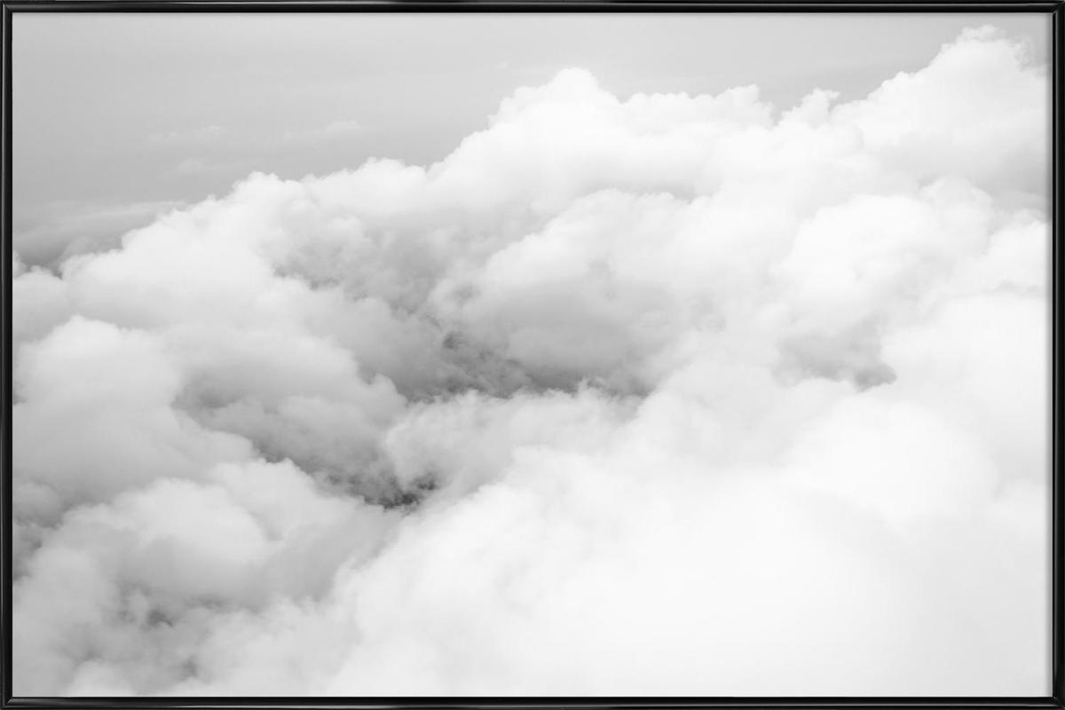 Above the Clouds ingelijste poster