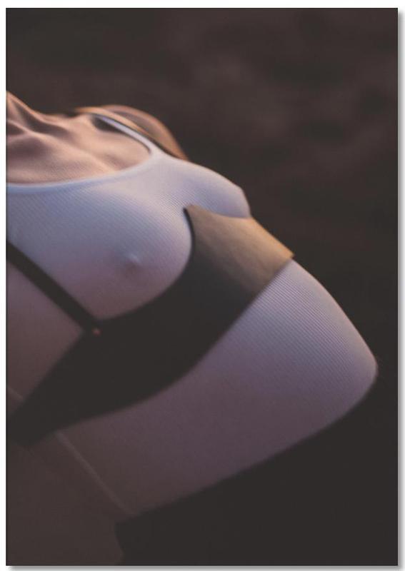 Body Close-Ups, Fashion Illustrations, Desert Dance III Notepad