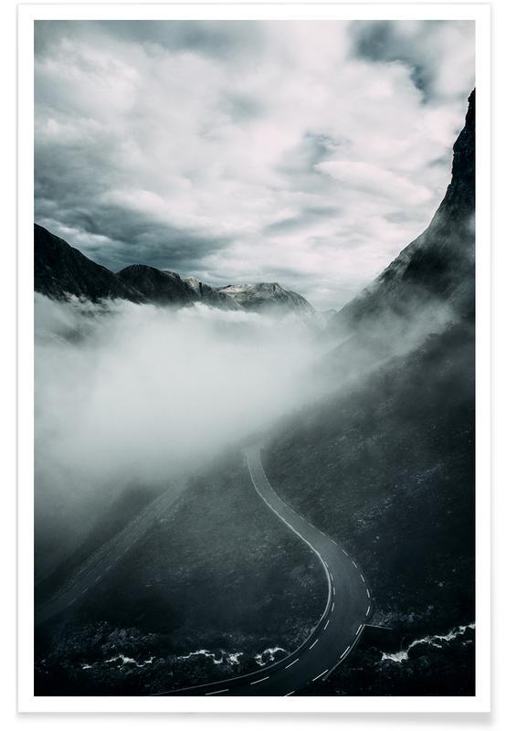Bjerge, Misty Roads Plakat