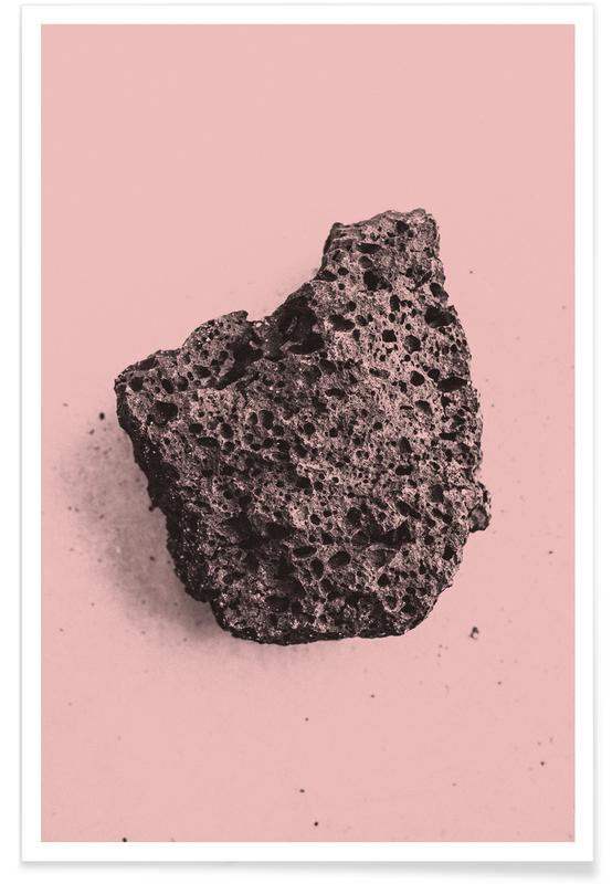 , Volcanic Pink affiche
