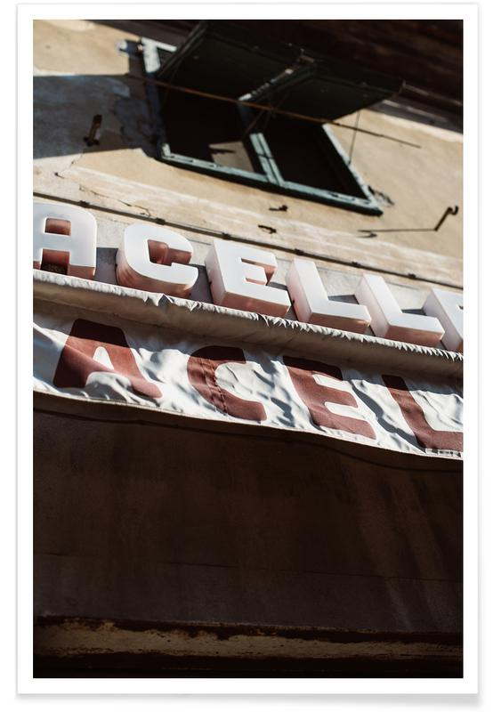 Architectonische details, Street art, Macelleria poster