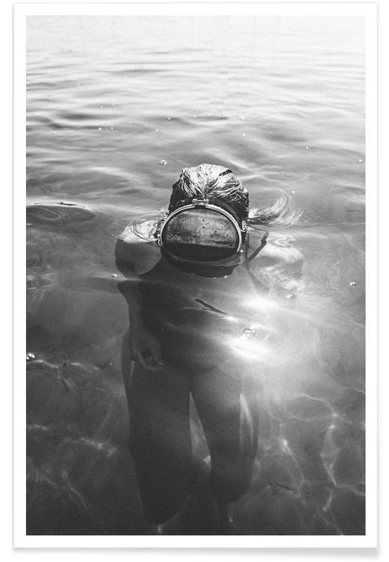 Oceanen, zeeën en meren, Starnberg poster