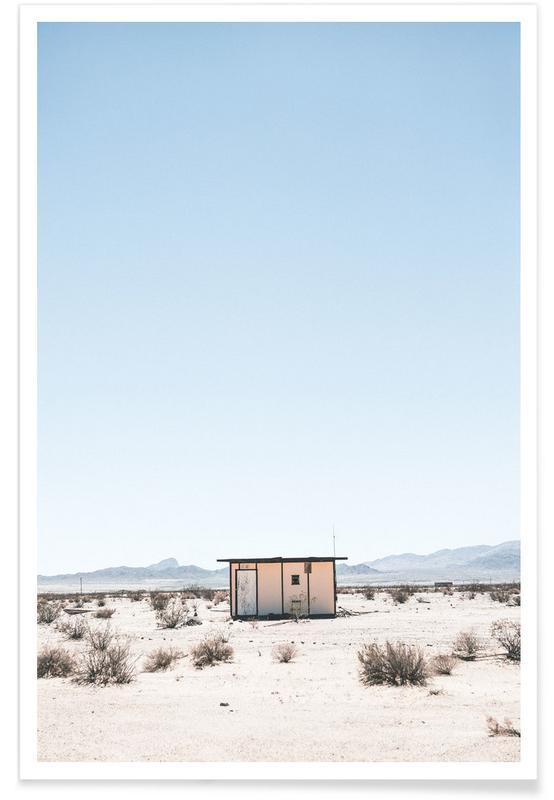 Deserts, Desert House Poster