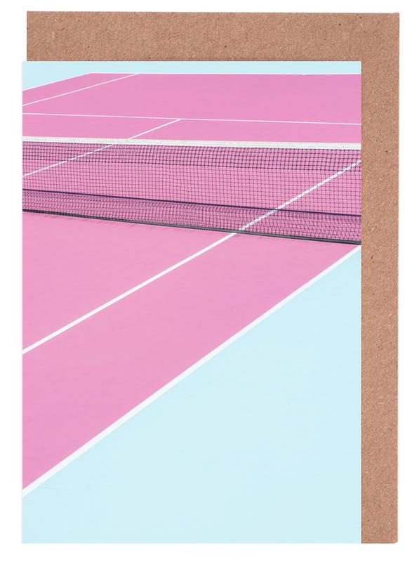 Pink Court - Net Greeting Card Set