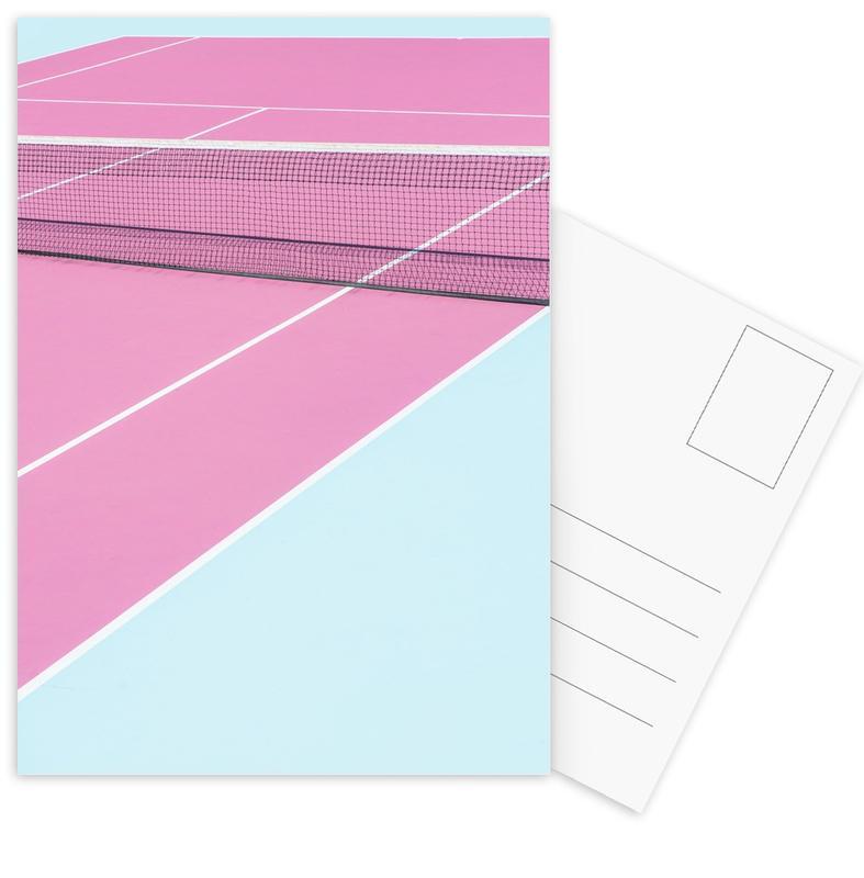 Pink Court - Net Postcard Set