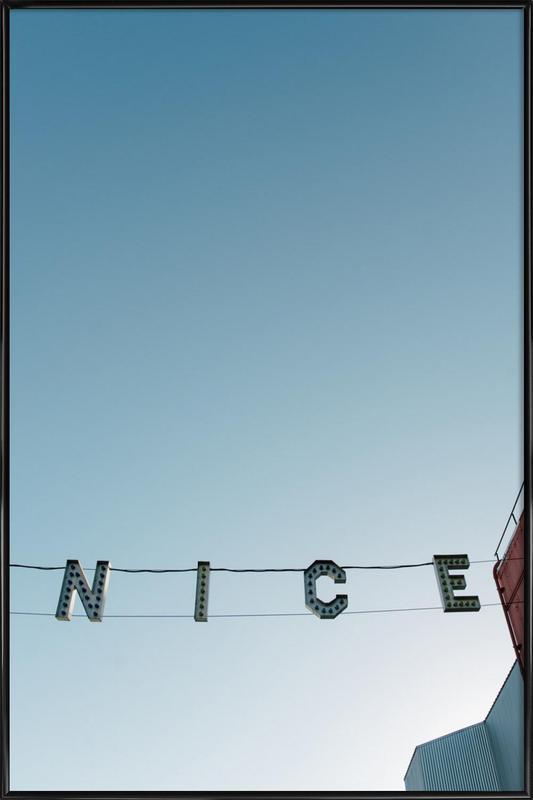 Ve-Nice ingelijste poster