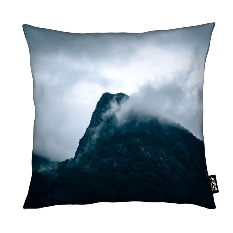 Montagnes, Ciels & nuages, Grey coussin