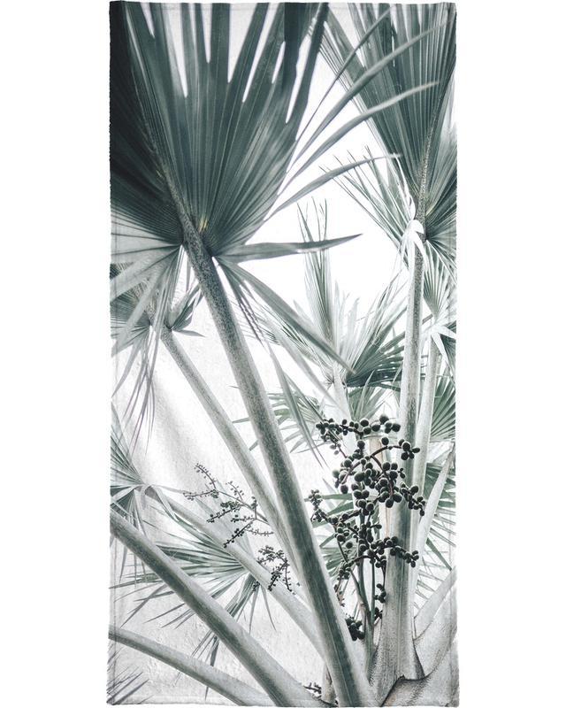 Beach Palm Fruits Bath Towel