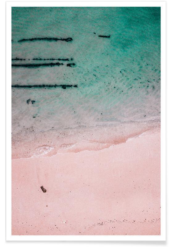 Beach Patterns2 Poster