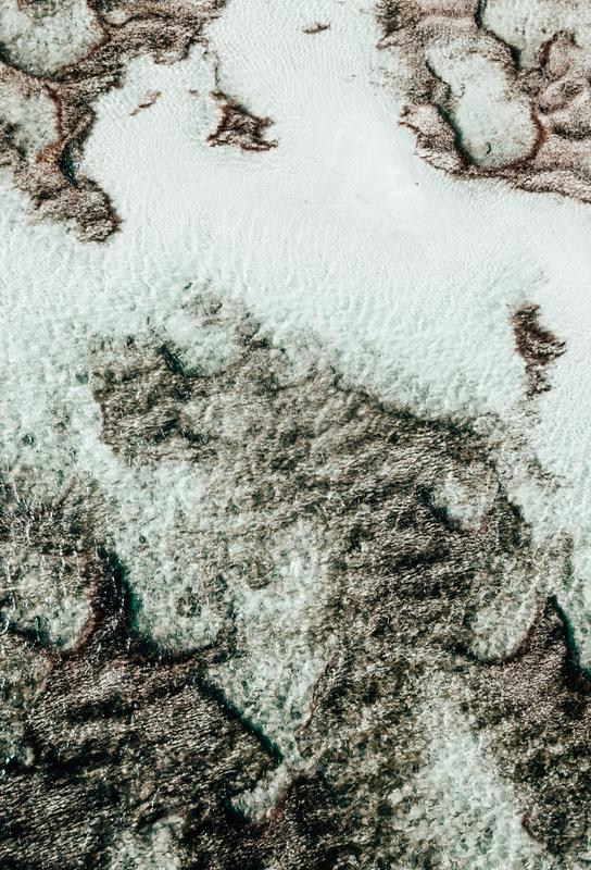 Beach Sea Pattern 3 Acrylic Print