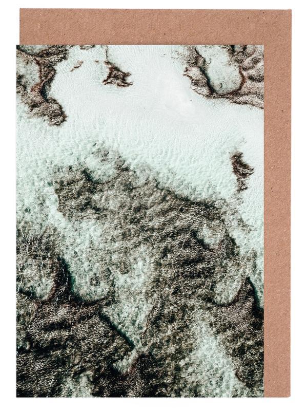 Beach Sea Pattern 3 -Grußkarten-Set