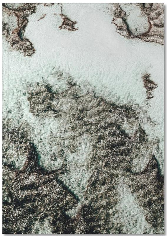 Beach Sea Pattern 3 Notebook
