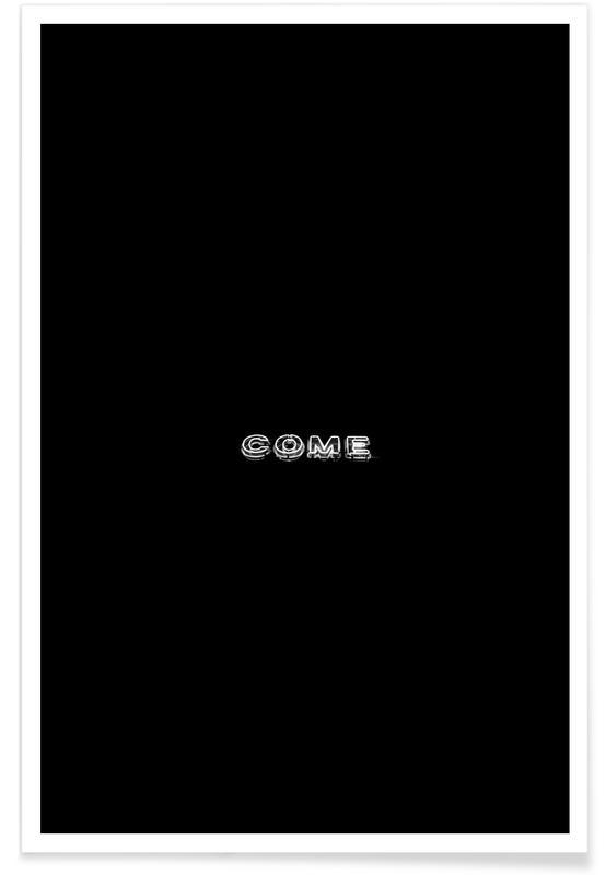 Noir & blanc, Come affiche