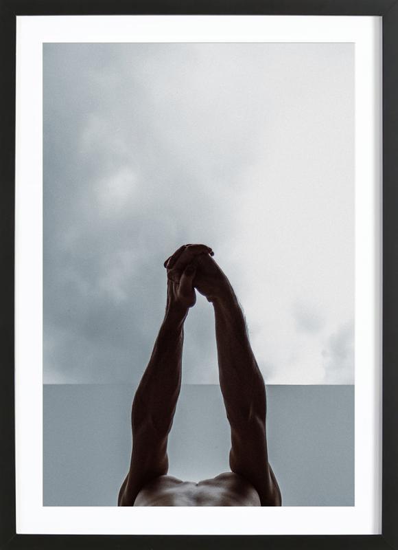 Stretch ingelijste print