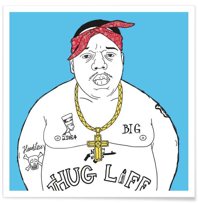 Notorious B.I.G., Hiphop en rap, Doppelgänger Christopher poster