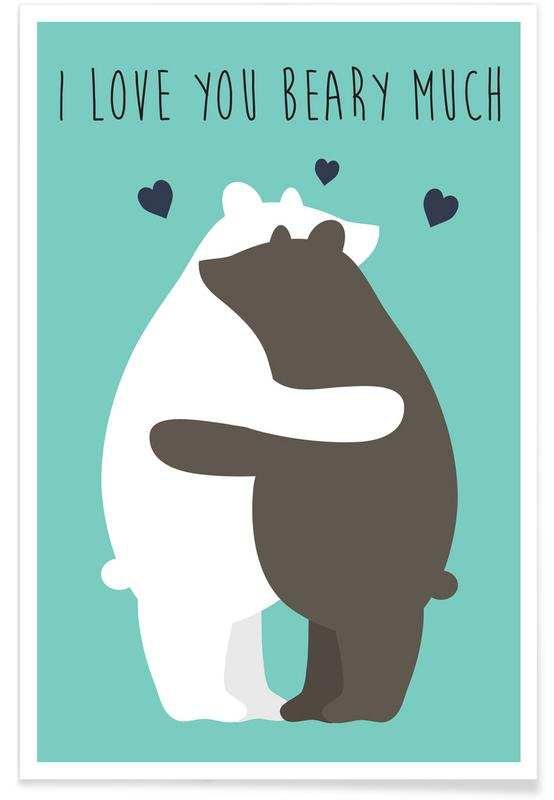 I Love You Beary Much affiche