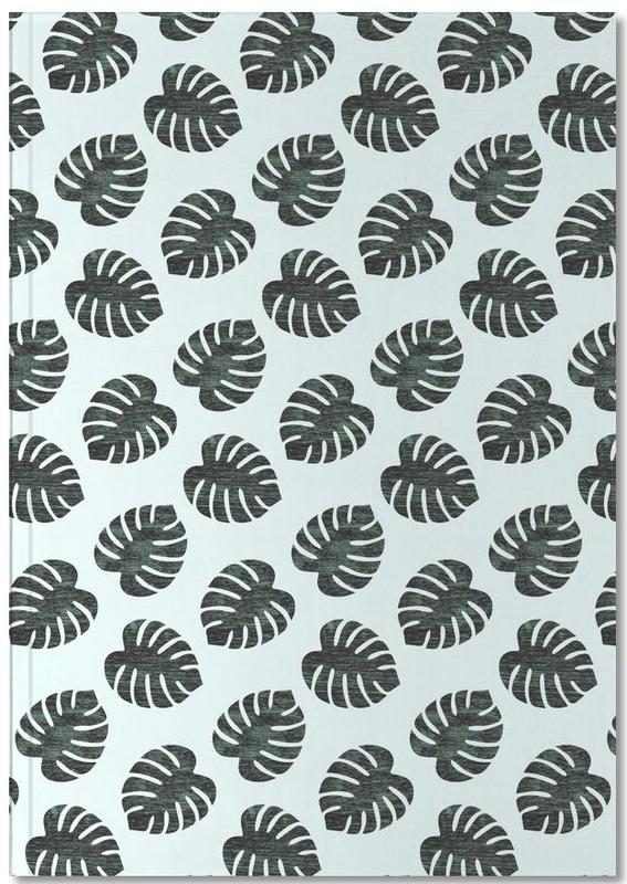 Monstera Pattern Notebook