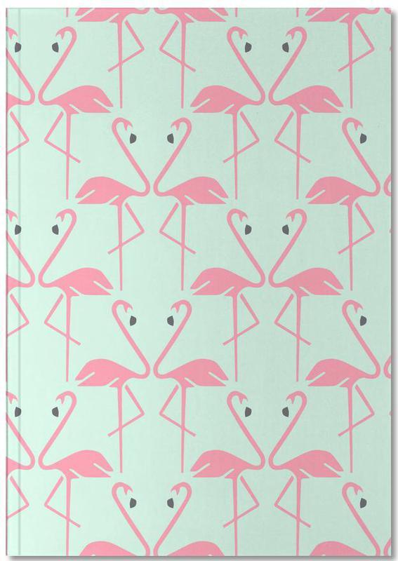 Flamingos, Pink Flamingos Notebook
