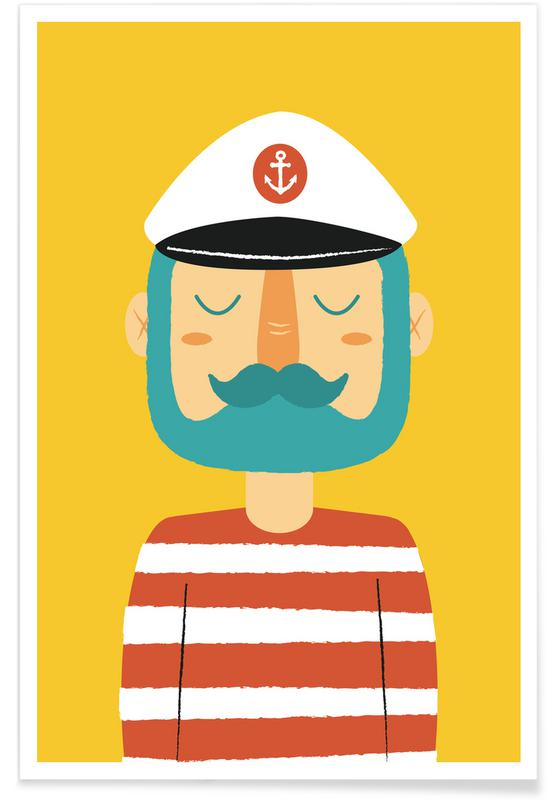 Ahoy Sailor Poster