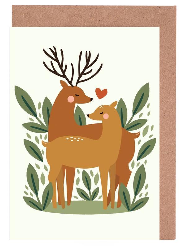 Deer Love Greeting Card Set