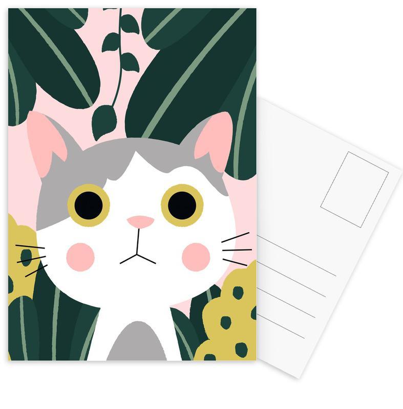 Jungle Cat cartes postales