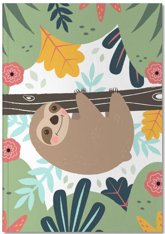 Art pour enfants, Paresseux, Sloth Notebook