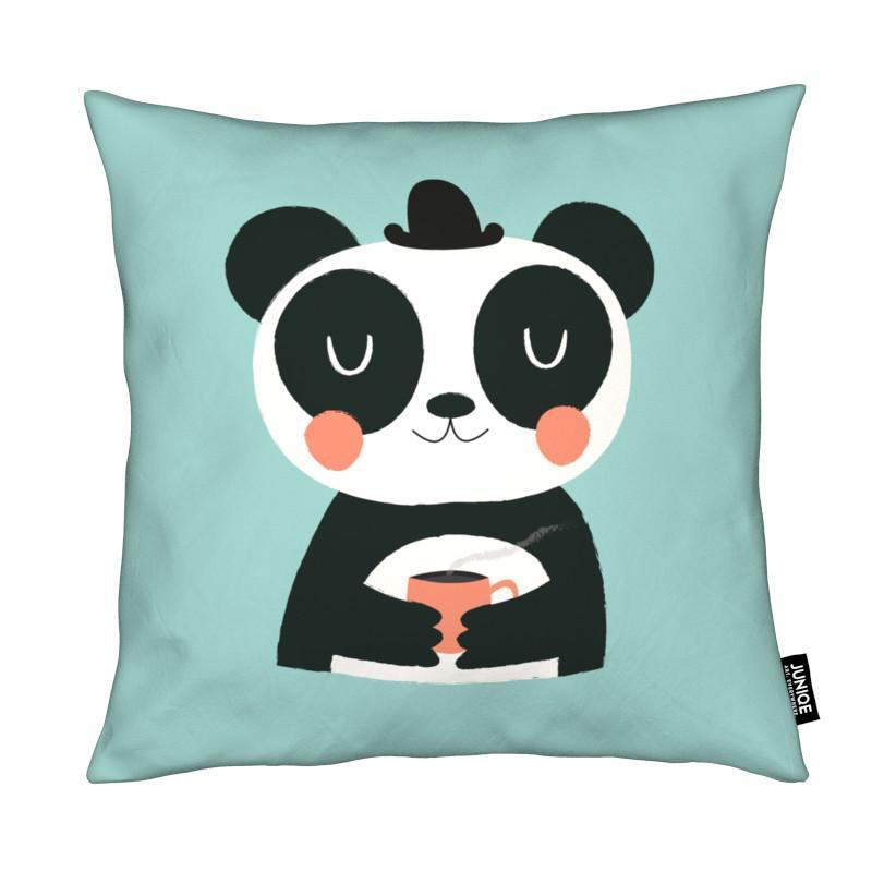 Nursery & Art for Kids, Pandas, Panda Loves Coffee