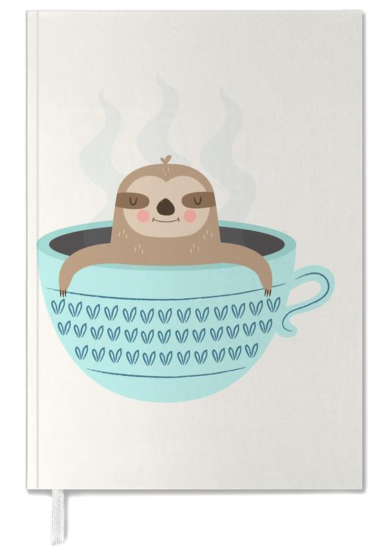 Art pour enfants, Paresseux, Sloth in A Cup agenda