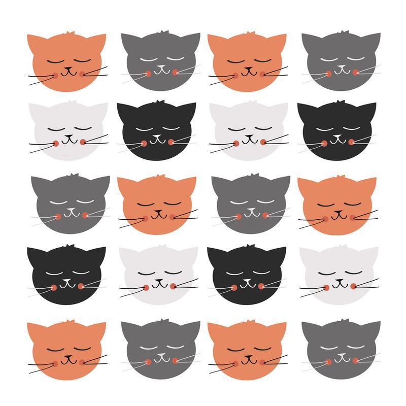 Cat Madness -Leinwandbild