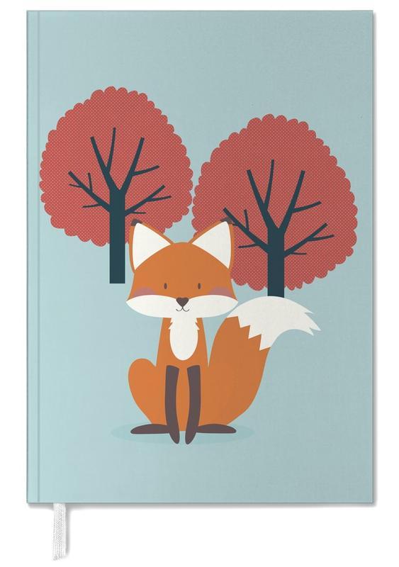 Renards, Art pour enfants, Foxy Friend agenda