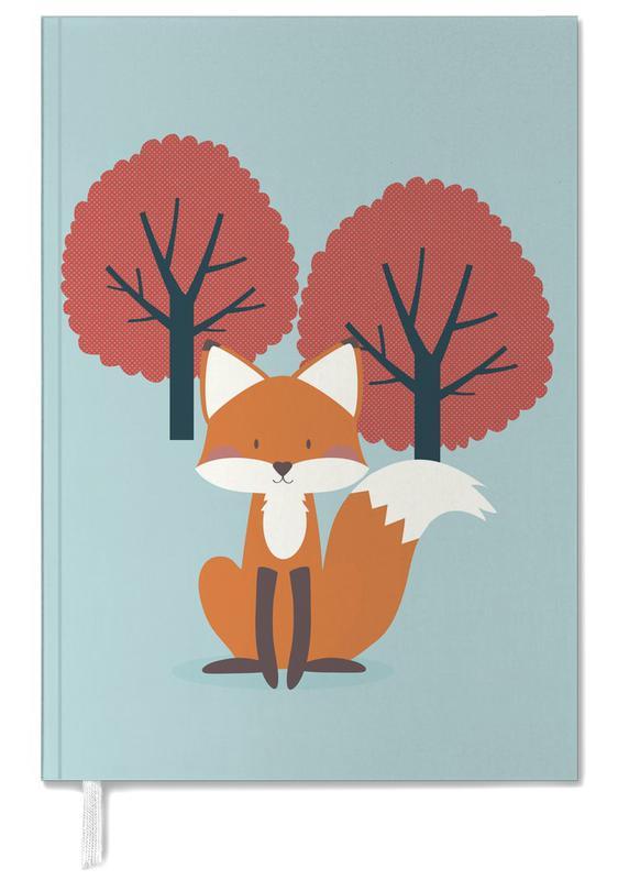 Foxes, Nursery & Art for Kids, Foxy Friend Personal Planner