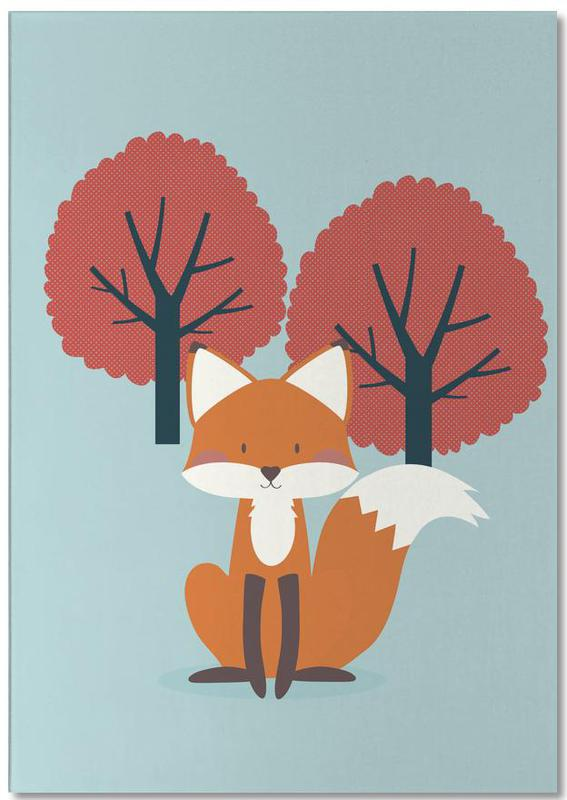 Foxy Friend Notepad