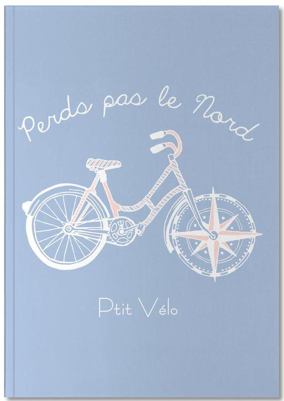 Fahrräder, Perds pas le Nord Notebook