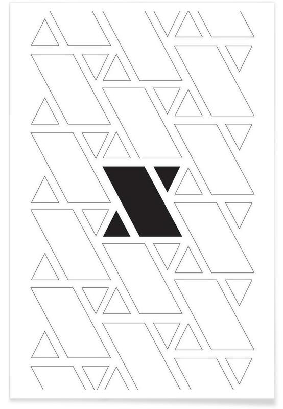 Noir & blanc, xx affiche