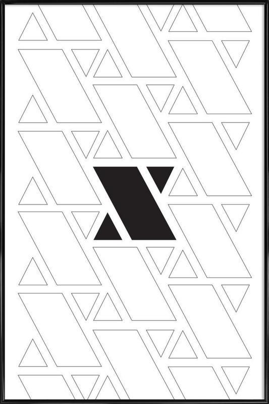 xx -Bild mit Kunststoffrahmen
