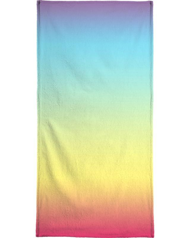My Rainbow Bath Towel