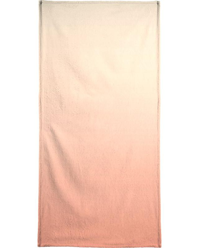 Peachy Peach Beach Towel