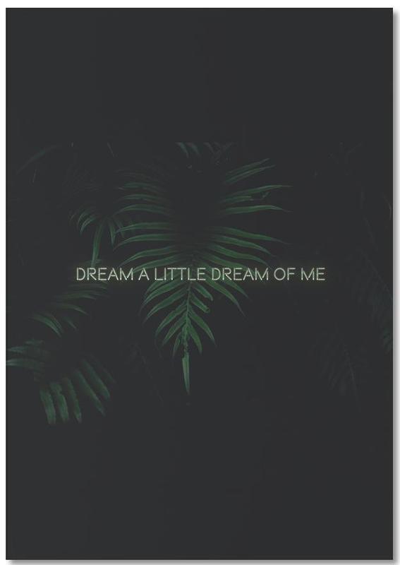 Dream a little dream bloc-notes