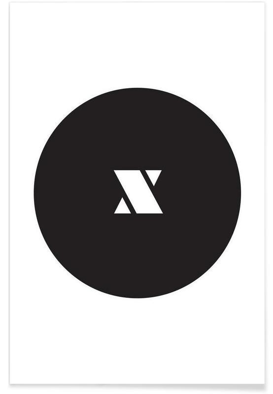 X affiche
