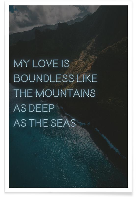 My love is boundless poster