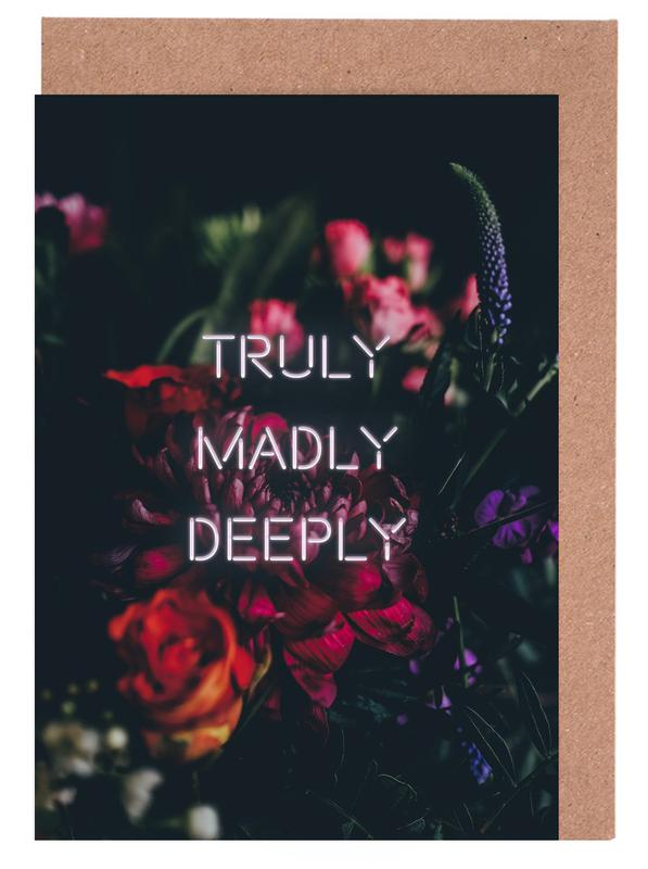 Truly Madly Deeply cartes de vœux