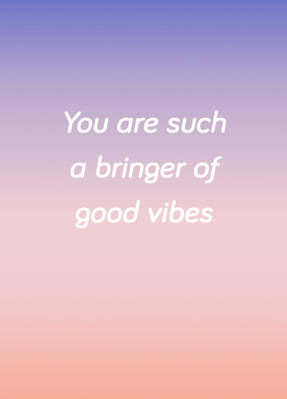 Bringer Of Good Vibes Canvas Print