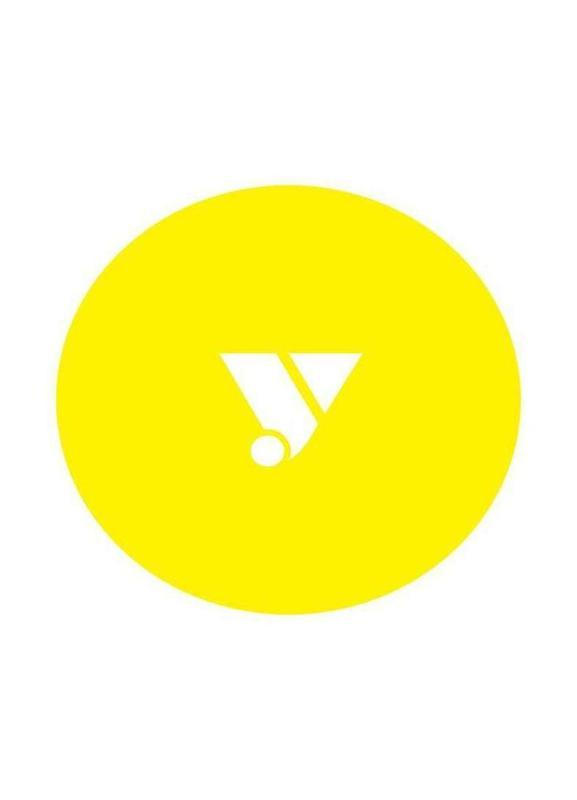 Yellow -Leinwandbild